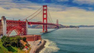 サンフランシスコにあるゴールデンゲートブリッジ