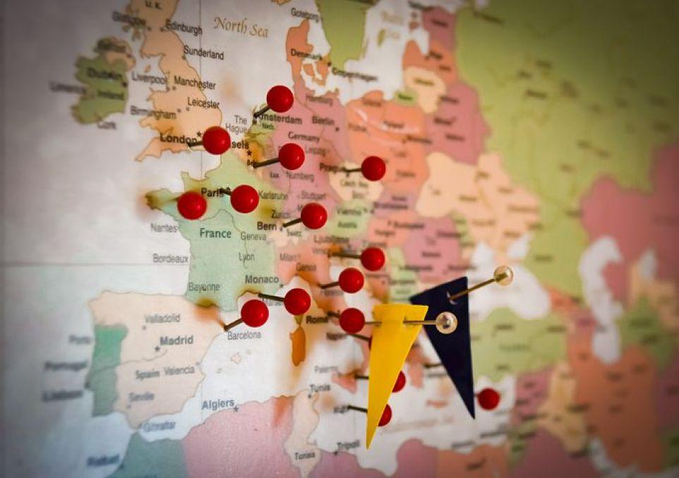 ヨーロッパ周遊スタート