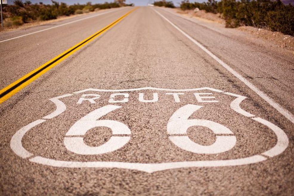 アメリカンカルチャーには欠かせない旧国道66号線
