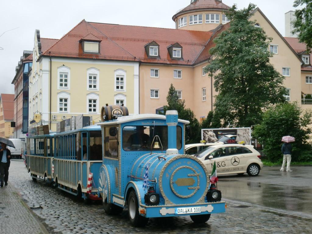 フュッセンでメルヘンチックなバスを発見!