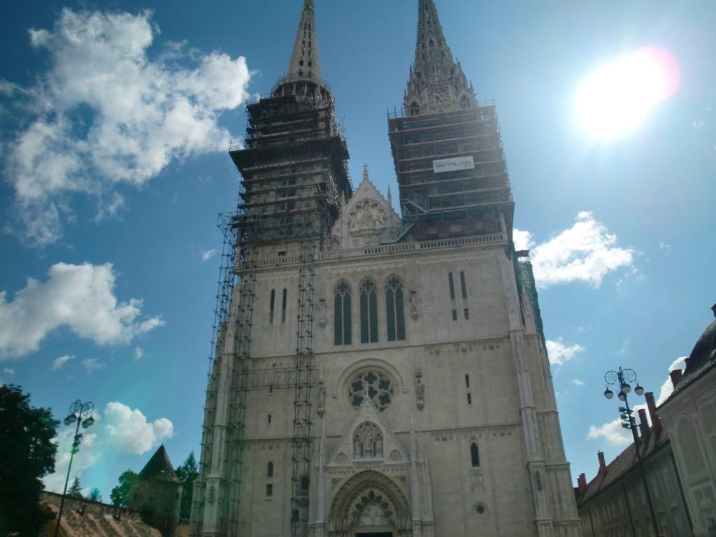 ザグレブのシンボルでもある美しい大聖堂