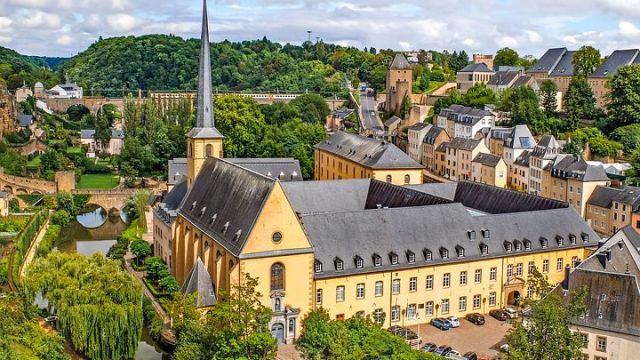 世界遺産「ルクセンブルク市 その古い町並みと要塞群」