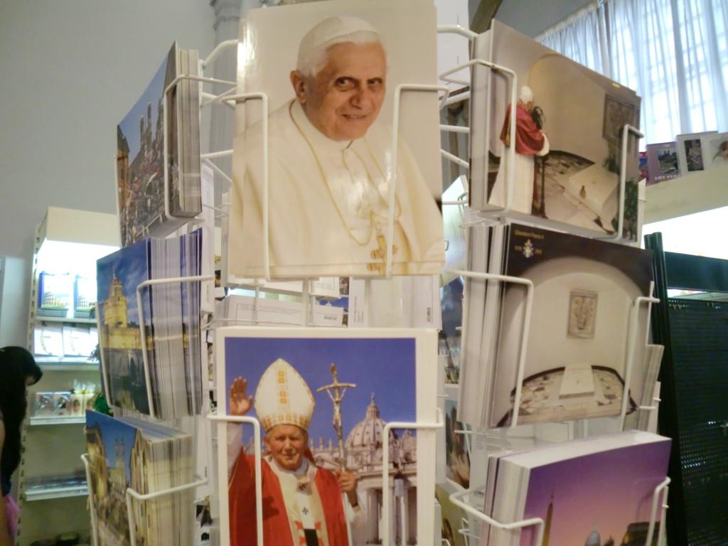 8億人程いるカトリック教徒の頂点に立たれるローマ教皇。