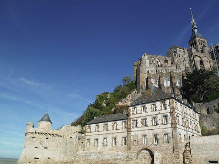 モン・サン・ミシェルの頂上にある『修道院』