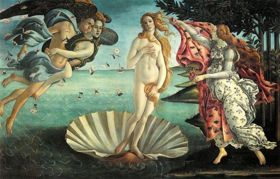 ウッフィツィ美術館はメディチ家代々の当主が力を注いだ、美術品の収集と芸術家の保護育成の成果が結集された美術館。ボッティチェッリ作の『春』や『ヴィーナスの誕生』など、世界的な名作が多数あります。