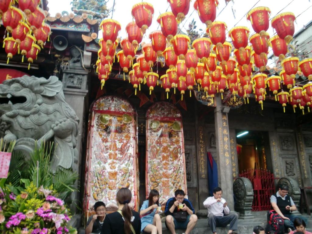 台北の市場