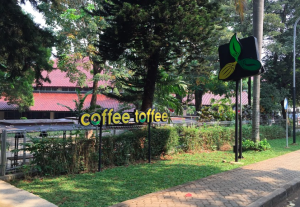 Coffee Tofee(FIB・人文学部の中にある)