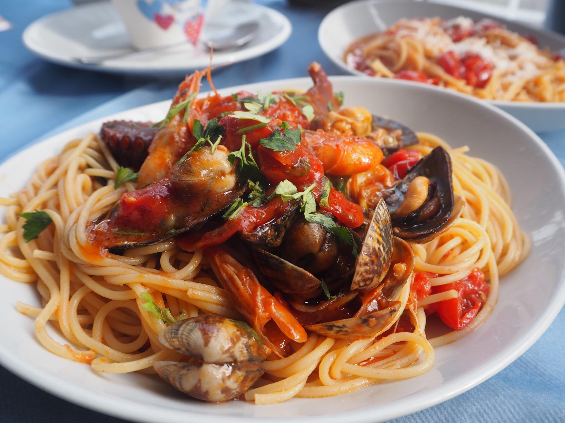 ナポリのレストラン!ナポリでパスタを50皿以上食べた著者がナポリ料理を紹介!