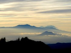 The view over Mount Panjankan, Java