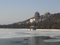 The Summer Palace in winter