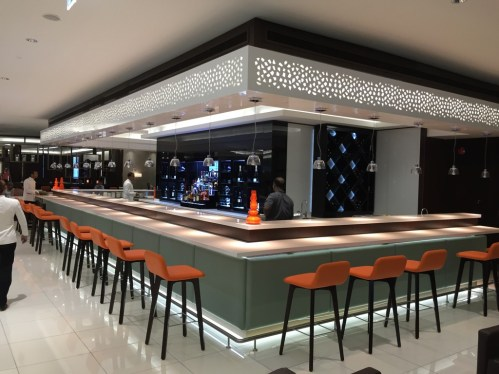 Etihad First Class Lounge Bar