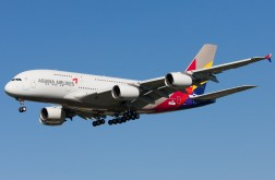 Asiana's beautiful A380