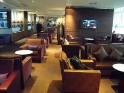 Thai Royal Silk Lounge at Bangkok Suvarnabhumi