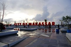 Makassar in the south