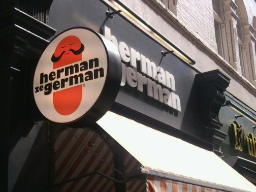 Herman ze German, UK