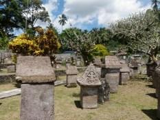 Megalithic Waruga coffins of Tomohon