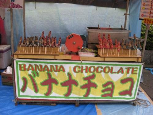 Chocolate Bananas!