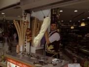 Dondurma is thick ice cream from Turkey