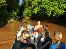 The Mighty Kinabatangan is great for a river safari!