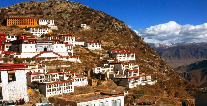 Ganden Monastery Tybet