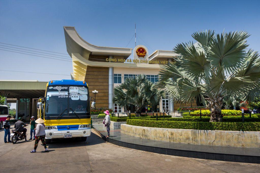 Nachtbus von Sihanoukville nach Hi-Chi-Minh-City