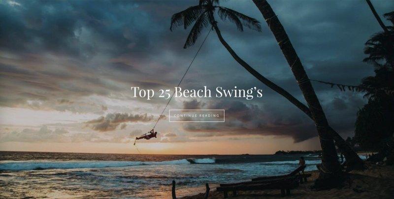 top 25 beach swings