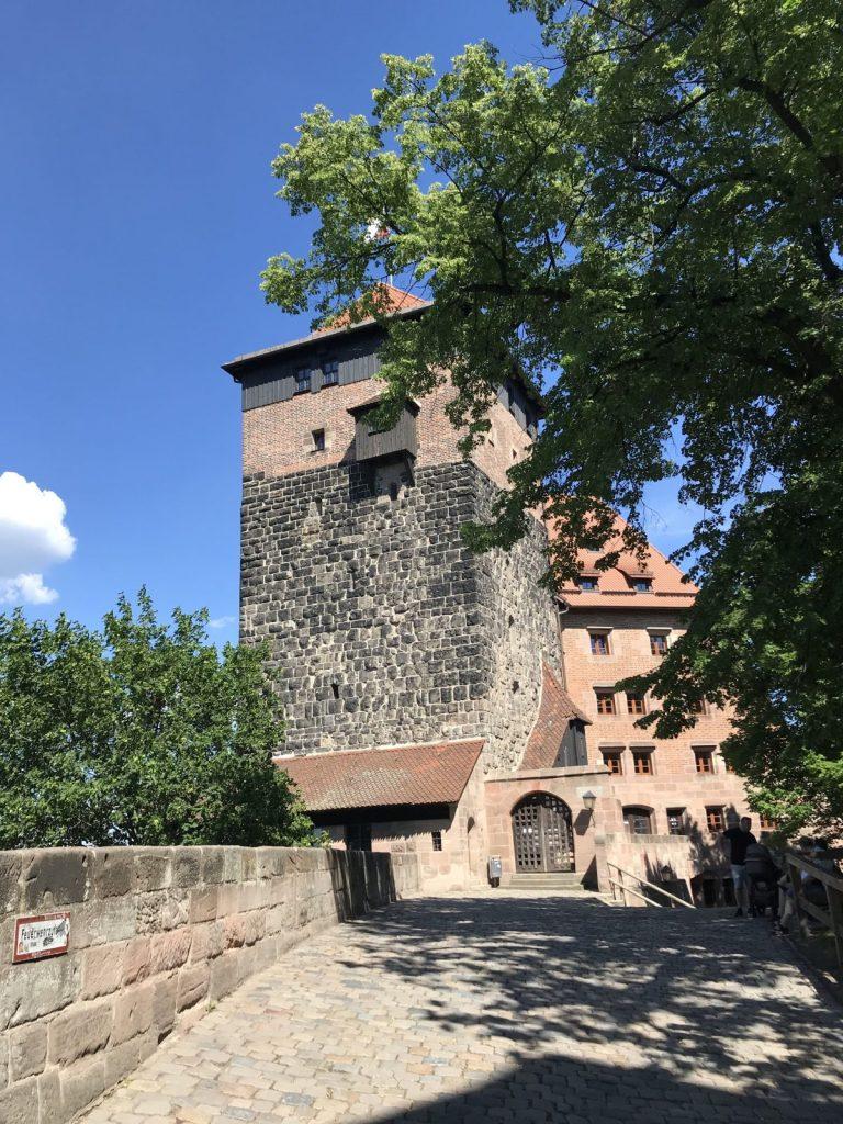 castle in nuremberg