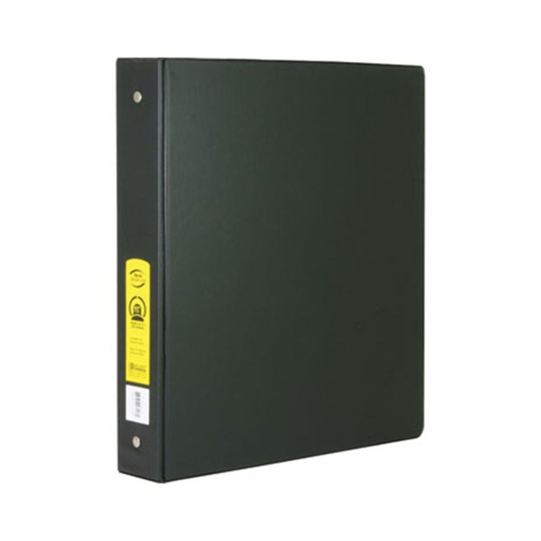 1.5 Black 3-ring Binder With 2-pockets 002-3113 Backpack Gear