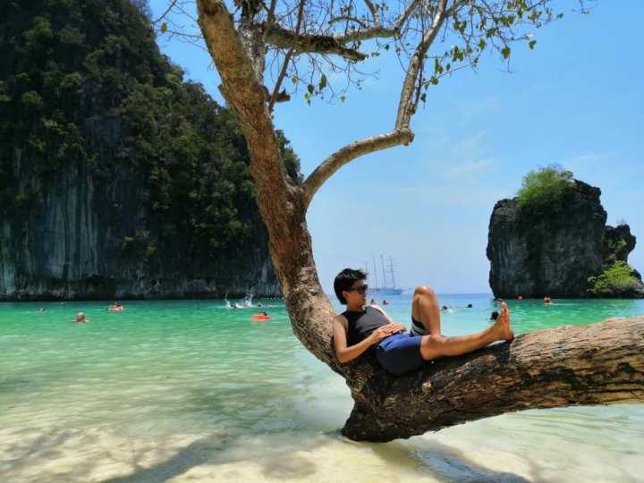 Krabi甲米(喀比)洪島,獨木舟遊記 – 背包旅神