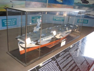 USS Midway model