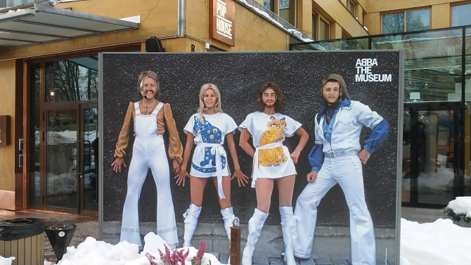 Us 4 as the ABBA members