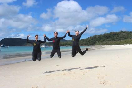 Great momentz with Cathelijn & Nicole @ Whitehaven Beach