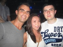 With Steve & Nora @ Mega's rooftop terrace