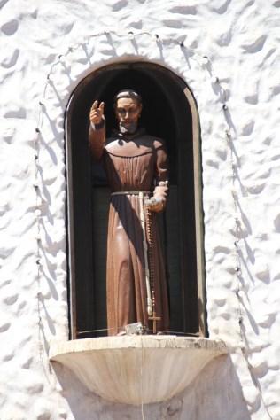 The statue of the Cabildo