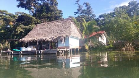 River house in Rio Dulce