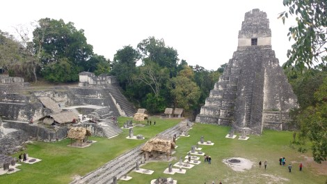 Mayan ruins of Tikal