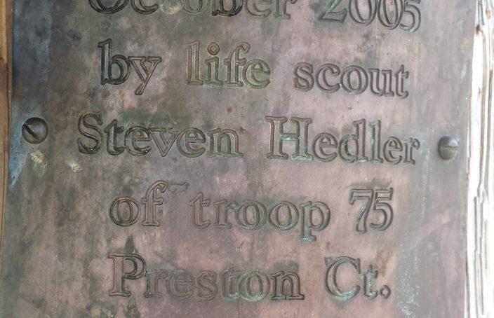 Steven Hedler Plaque