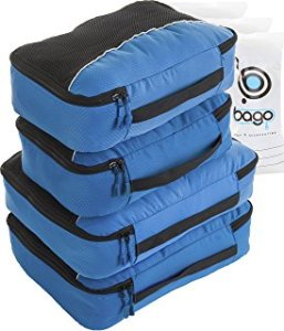 Bago Packing Cubes & Toiletry Bags Set
