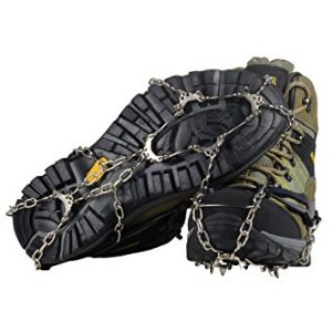 YuEdge Ice Snow Cleat Spikes Crampons