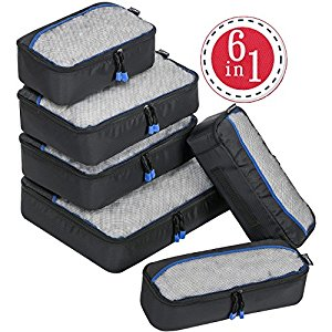 ZOMAKE Travel Packing Cubes