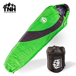 Adult Sleeping Bag By TNH Outdoors - 3 - 4 Season Zero 0 Degree