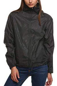 Zeagoo Lightweight Windbreaker Women Packable Raincoat Hooded Waterproof Jacket review