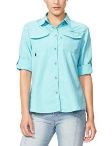 Baleaf Women's Basic UPF 30+ Woven Long Sleeve Shirt