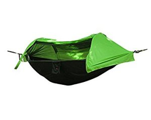 Crehouse Hammock Tent with Mosquito Net and Rainfly