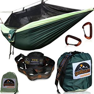 GoRoam Outdoors Camping Hammock with Mosquito net