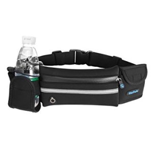 Hydration Running Belt Waist Pack Water Bottle Holder