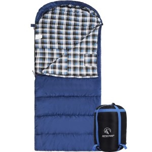 REDCAMP Cotton Flannel Sleeping Bag review