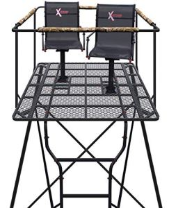 X-stand Hunting Blind Kingpin Tower review (Best Tripod Stand for Bow and Deer Hunting)