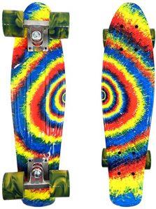 Wonnv Retro Mini Skateboard