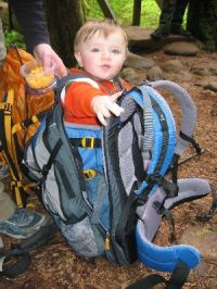 2007 Deuter KangaKid Child Carrier REVIEW - Backpacking Light